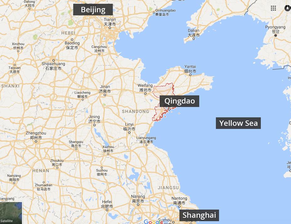 Qingdoa Map